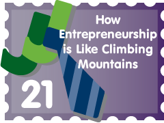 Post image for How Entrepreneurship is Like Climbing Mountains: JJ Entry #21
