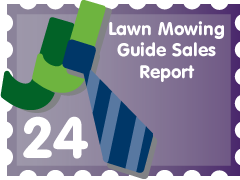 Post image for Lawn Mowing Guide Sales Report: JJ Entry #24