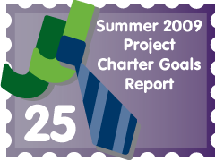 Post image for Summer 2009 Project Charter Goals Report: JJ Entry #25