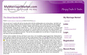 My Marriage Market